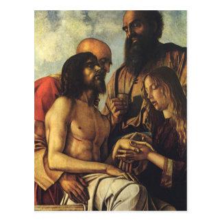 Religious Renaissance, Pieta by Giovanni Bellini Postcard