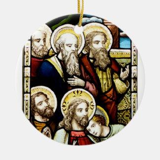 Religious Scene Christmas Tree Ornament