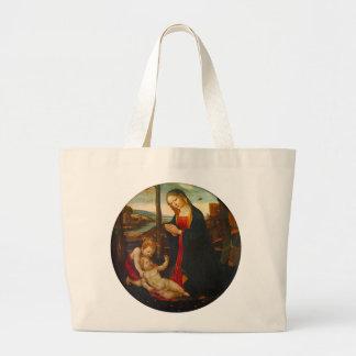 Religious Scene Jumbo Tote Bag