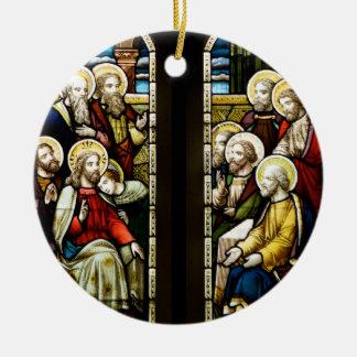 Religious Scene Ornaments