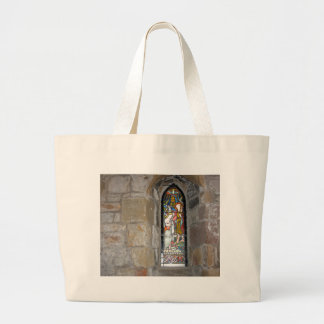 Religious Stained Glass Window Bag