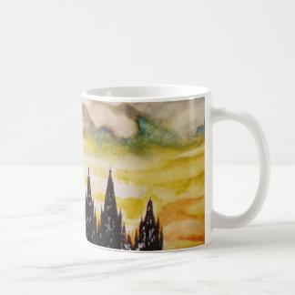 Religious Sunset Basic White Mug