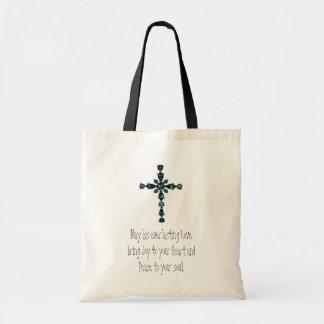 Religious tote bag budget tote bag