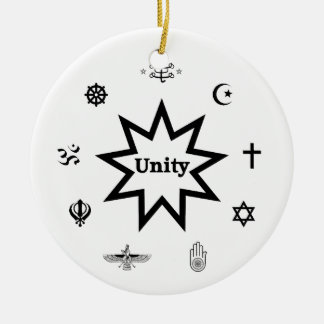 Religious Unity Christmas Ornaments