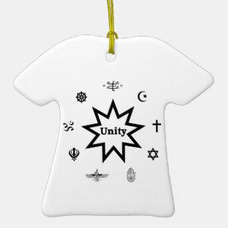 Religious Unity Christmas Tree Ornaments