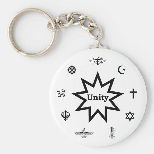 Religious Unity Keychains