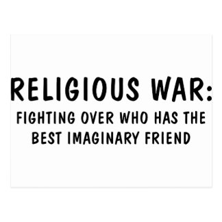 Religious War Postcard