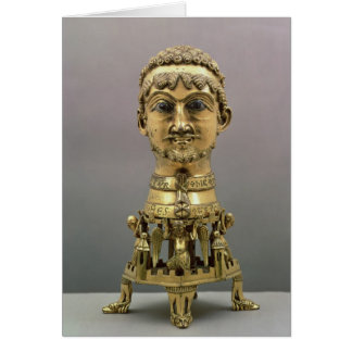 Reliquary bust of Frederick I Greeting Card