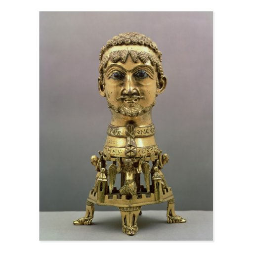 Reliquary bust of Frederick I Postcards