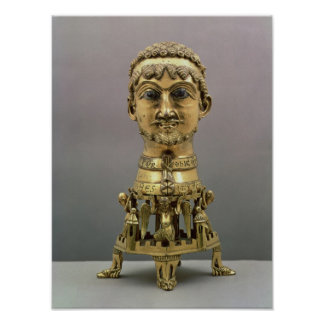 Reliquary bust of Frederick I Poster