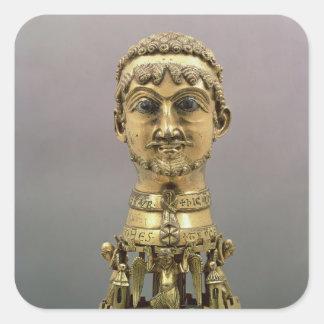 Reliquary bust of Frederick I Square Sticker
