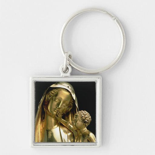 Reliquary of the Virgin of Jeanne d'Evreux, 1339 ( Key Chains