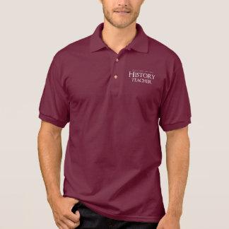 Remain Calm I'm A History Teacher Polo Shirt