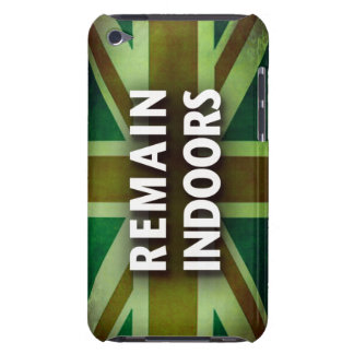 Remain Indoors ipod case
