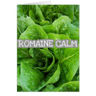 REMAIN *Romaine* Calm Card