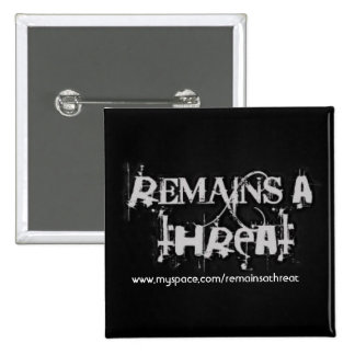 Remains A Threat Pin