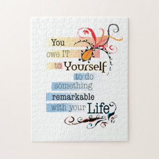 Remarkable Life Jigsaw Puzzle