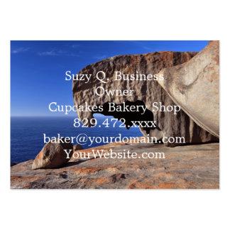 Remarkable Rocks, Kangaroo Island,South Australia Large Business Cards (Pack Of 100)