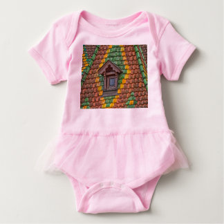 Remarkable roofing in the center of Obernai Baby Bodysuit