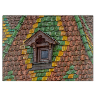 Remarkable roofing in the center of Obernai Cutting Board