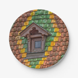 Remarkable roofing in the center of Obernai Paper Plate