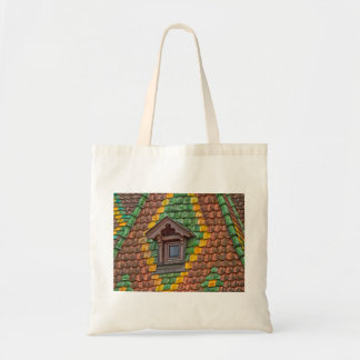 Remarkable roofing in the center of Obernai Tote Bag
