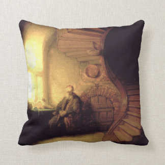 Rembrandt Art Painting Cushion
