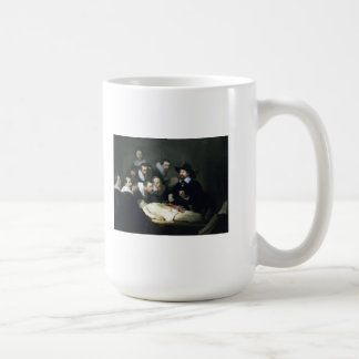 Rembrandt Art Painting The Anatomy Lesson Coffee Mug