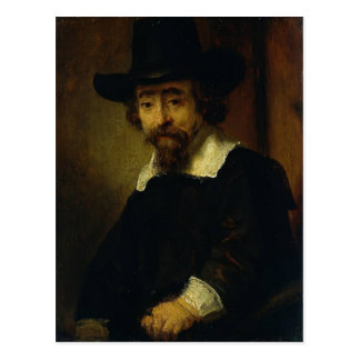 Rembrandt- Dr Ephraim Bueno, Physician and Writer Postcard