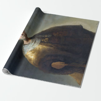 Rembrandt Man in Oriental Costume Wrapping Paper