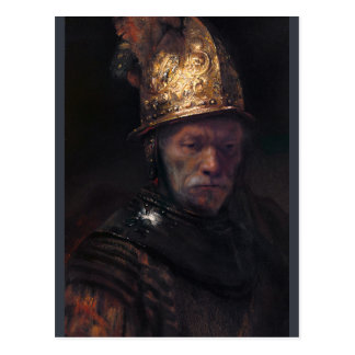 Rembrandt Man with the golden helmet CC0736 Postcard