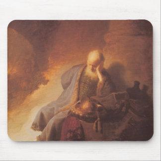 Rembrandt-Mourning over Destruction of Jerusalem Mouse Pad