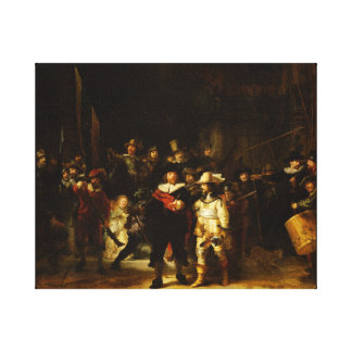 Rembrandt Nightwatch Night Watch Baroque Painting Canvas Print