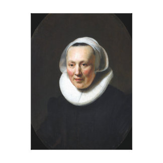 Rembrandt Portrait of a Woman Canvas Print