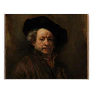 Rembrandt Self Portrait Poster