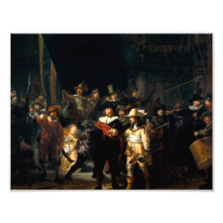 Rembrandt The Night Watch Print Art Photo