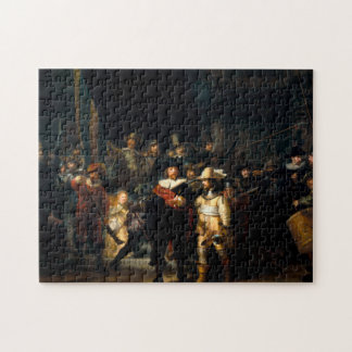 Rembrandt The Night Watch Puzzle