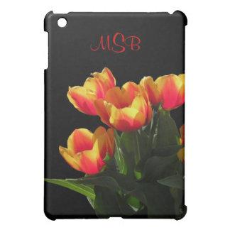 Rembrandt Tulip Monogram iPad Case