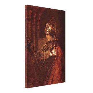 Rembrandt van Rijn - Alexander the Great Gallery Wrapped Canvas
