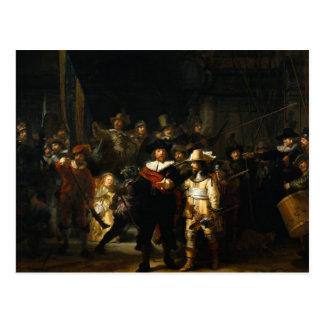 Rembrandt van Rijn The Night Watch Postcard