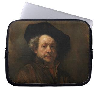 Rembrandt van Rijn's Self Portrait Fine Art Computer Sleeves