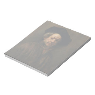Rembrandt van Rijn's Self Portrait Fine Art Notepad