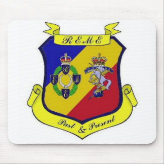 REME Past & Present Mouse Pad