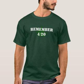 Remember 4/20 T-Shirt