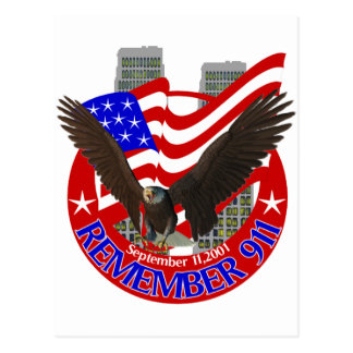 Remember 911 postcard