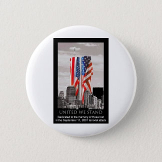 Remember 9/11 6 cm round badge