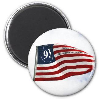 Remember 9/11 - Flight 93 6 Cm Round Magnet
