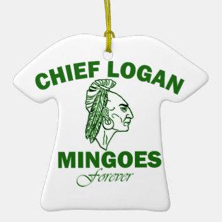 Remember Chief Logan High School Ornaments