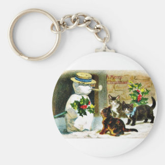 Remember Christmas Basic Round Button Key Ring