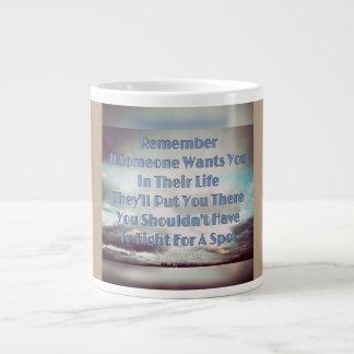 Remember Jumbo Mug